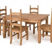 Corona 5' 4 chairs