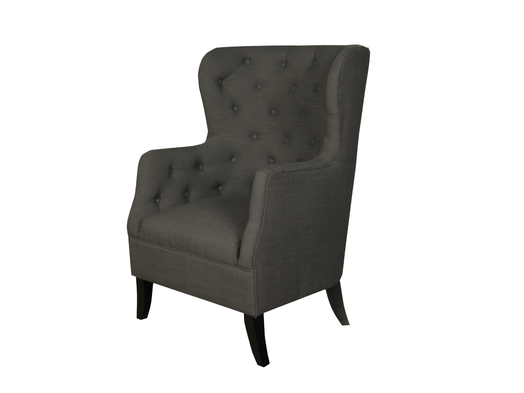 Fulham Armchair Charcoal