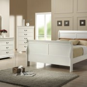 louis philippe bedroom range white
