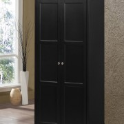 louis philippe wardrobe black