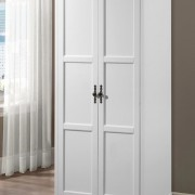 louis philippe wardrobe white