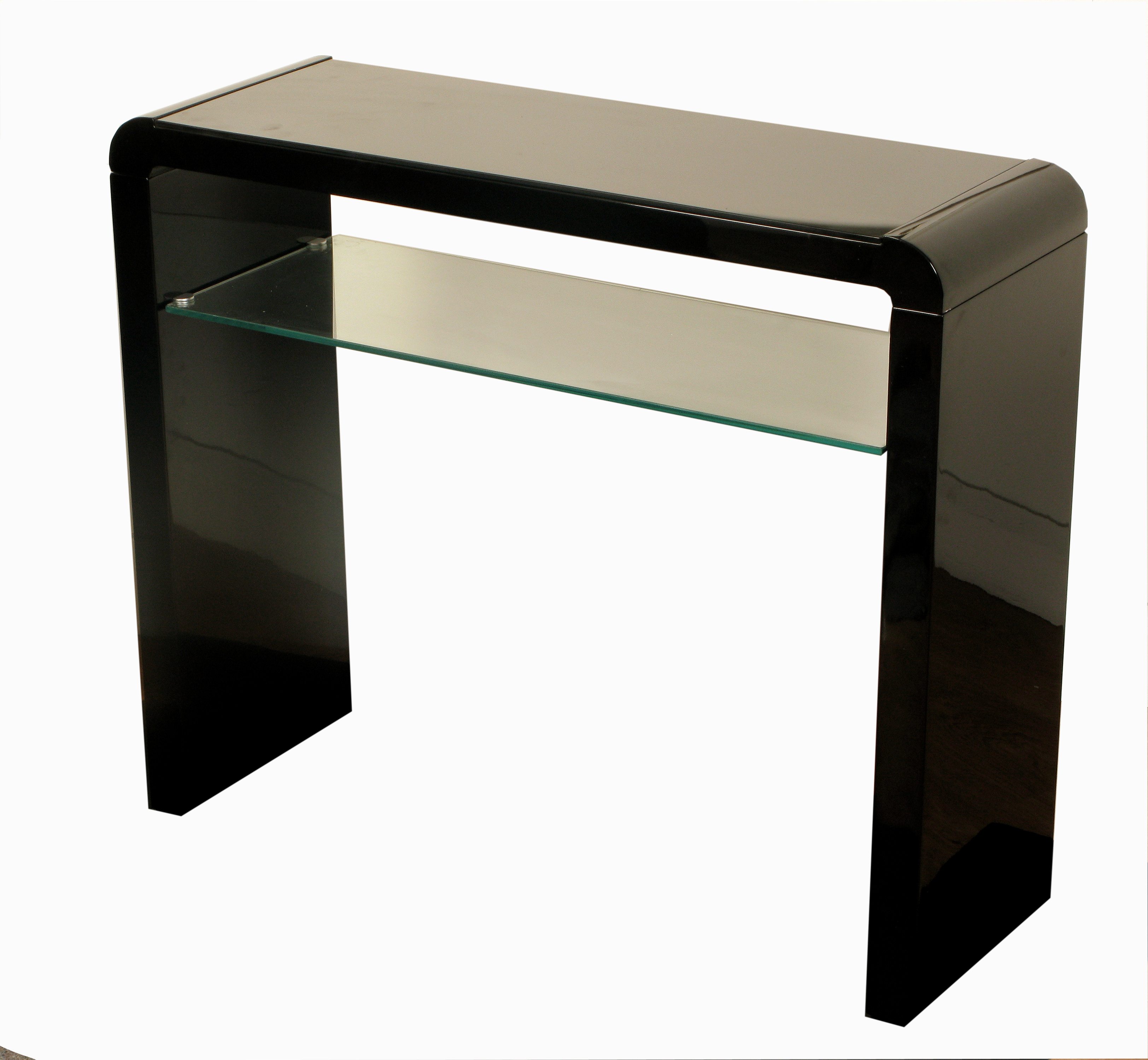 black sofa table. ATLANTIS CLARUS BLACK CONSOLE Black Sofa Table I