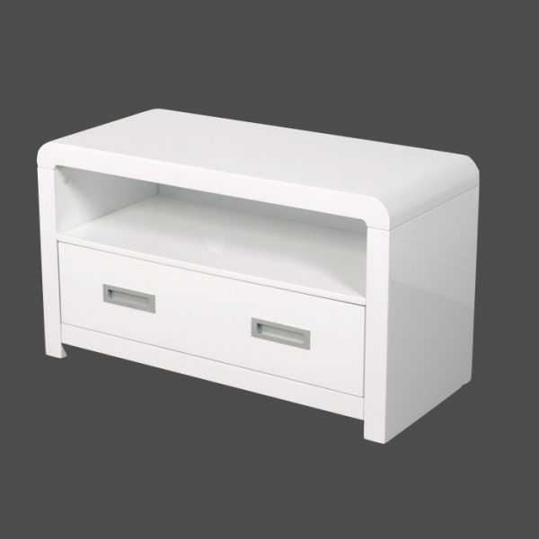 ATLANTIS CLARUS WHITE TV:DVD UNIT