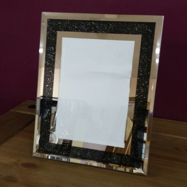 Black-Glitter-Photo-Frame
